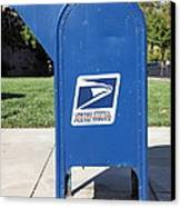 Us Mail Box . 5d18813 Canvas Print by Wingsdomain Art and Photography