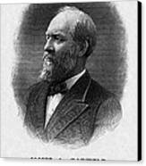 Us Presidents. Us President James Canvas Print by Everett