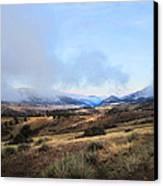 Valley Mist Canvas Print by Ric Soulen