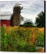 Van Gogh At The Barn Canvas Print