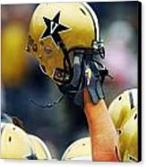 Vanderbilt Commodore Helmet  Canvas Print