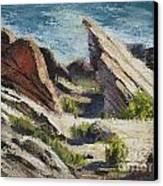 Vasquez Pass Canvas Print by Rich Arons