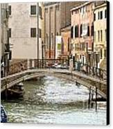 Venice Venezia Venetian Bridge Canvas Print by Italian Art