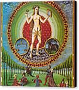 Venus Ruler Of Taurus And Libra Canvas Print