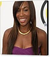 Venus Williams In Attendance For New Canvas Print by Everett
