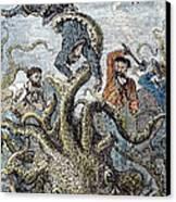 Verne: 20,000 Leagues, 1870 Canvas Print