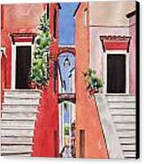 Vico Giardini Canvas Print by Regina Ammerman