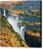 Victoria Falls, Zambia Canvas Print