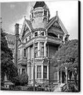 Victorian Haas Lilienthal House In San Francisco Canvas Print