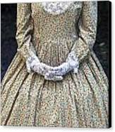 Victorian Lady Canvas Print by Joana Kruse