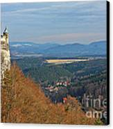 View From Koenigstein Fortress Germany Canvas Print