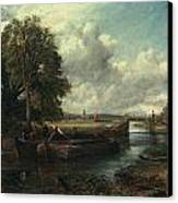 View Of The Stour Near Dedham Canvas Print