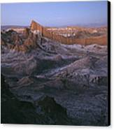 View Of The Valley Of The Moon Canvas Print by Joel Sartore