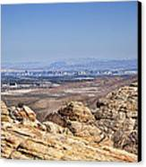 View Of Vegas Canvas Print