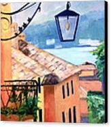 View To Lake Como Canvas Print