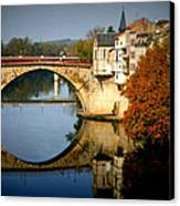 Villeneuve Sur Lot Canvas Print by Georgia Fowler