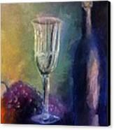 Vino Canvas Print by Michelle Calkins