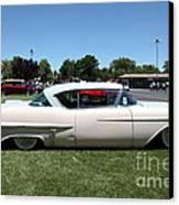 Vintage 1957 Cadillac . 5d16686 Canvas Print