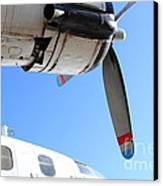 Vintage Boac British Overseas Airways Corporation Speedbird Flying Boat . 7d11270 Canvas Print