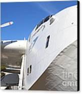 Vintage Boac British Overseas Airways Corporation Speedbird Flying Boat . 7d11273 Canvas Print