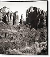 Vintage Cathedral Rock Canvas Print