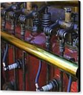 Vintage Combustion Engine Canvas Print by Scott Hovind