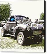 Vintage Willys Gasser Canvas Print