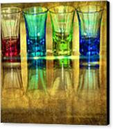 Vodka Glasses Canvas Print by Svetlana Sewell