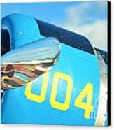 Vultee Bt-13 Valiant Nose Canvas Print