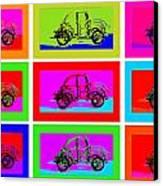 Vw Beatle 1b Canvas Print by Mauro Celotti