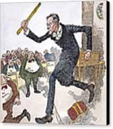 W. Wilson: Big Business Canvas Print