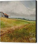 Waiting For The Summers Rain Canvas Print
