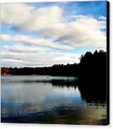 Walden Pond Reverie  Canvas Print