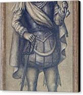 Walter Raleigh, English Explorer Canvas Print by Photo Researchers