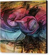 Wandering Star Canvas Print by Linda Sannuti