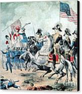 War Of 1812 Battle Of New Orleans 1815 Canvas Print by Photo Researchers