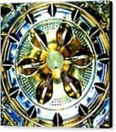 Washing Machine Drum Canvas Print by Randall Weidner