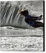 Water Skiing Magic Of Water 12 Canvas Print