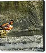 Water Skiing Magic Of Water 8 Canvas Print