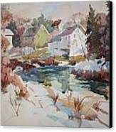 Watercolor Canvas Print by Peter Spataro