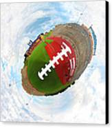 Wee Football Canvas Print by Nikki Marie Smith