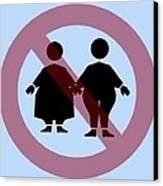 Weight Discrimination, Computer Artwork Canvas Print by Christian Darkin