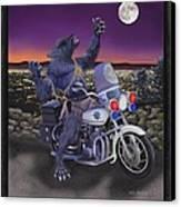 Werewolf Patrol Canvas Print