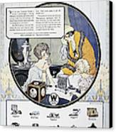 Westinghouse Ad, 1924 Canvas Print by Granger