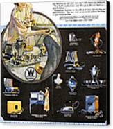 Westinghouse Ad, 1925 Canvas Print by Granger