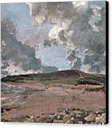 Weymouth Bay With Jordan Hill Canvas Print by John Constable