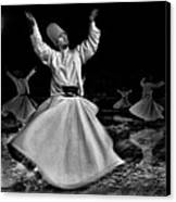 Whirling Dervish Canvas Print by Okan YILMAZ