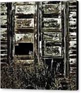 Wild Doors Canvas Print by Empty Wall