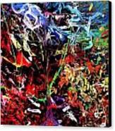 Wild Whipblash Canvas Print by Neal Barbosa