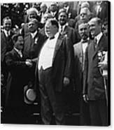 William Howard Taft 1857-1930 Receives Canvas Print